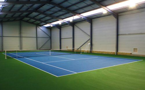 Réservations salle de tennis